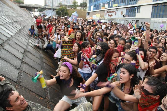 Brazilian Slutwalk Flasher | Know Your Meme