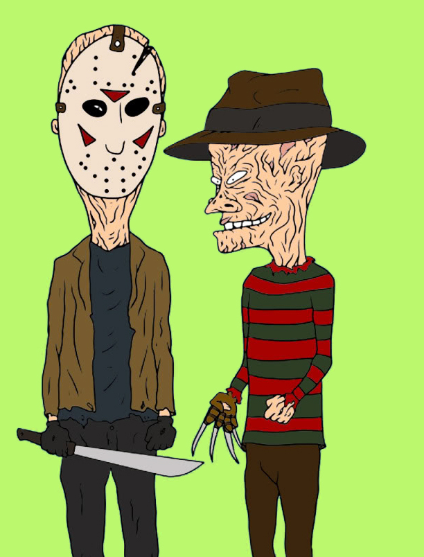 Beavis Butt-head Freddy Krueger cartoon fictional character