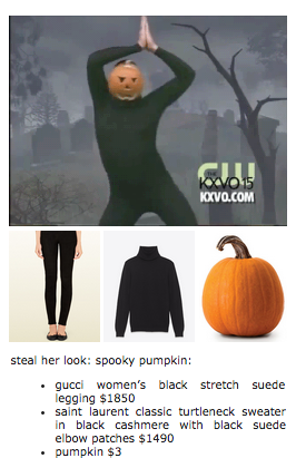 Steal That Pumpkin Look Steal Her Look Know Your Meme