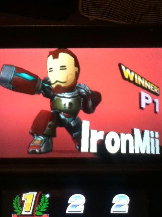 Ironmii Wins Mii Gunner Know Your Meme