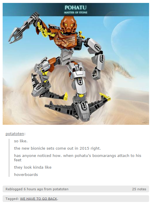 POHATU MASTER OF STONE Potatoten So Like The New Bionicle Sets Come Out In 2015
