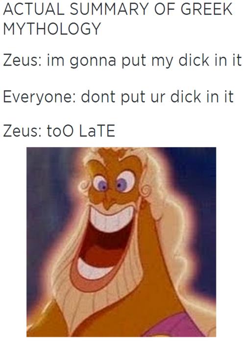 sticking Dick his