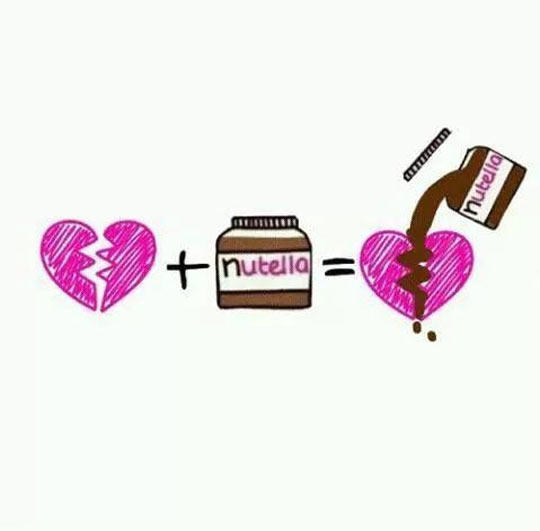 The Cure For A Broken Heart Nutella Know Your Meme