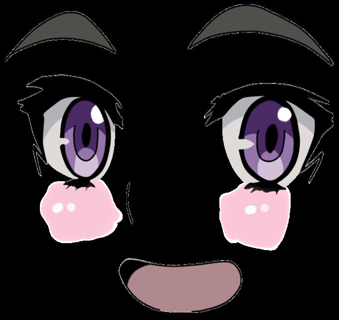 Face Eye Nose Facial Expression Purple Violet Head Eyebrow Smile Cartoon Emotion Organ Eyelash Cheek