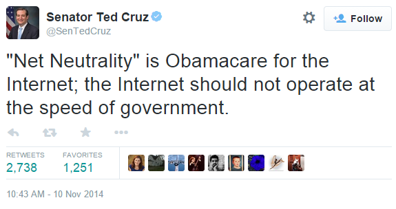 follow sentedcruz net neutrality is obamacare for the the speed of government