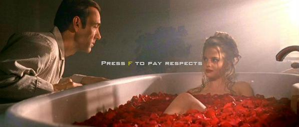 PRESS FT PAY RESPECT Mena Suvari American Beauty Lester Burnham Angela Hayes