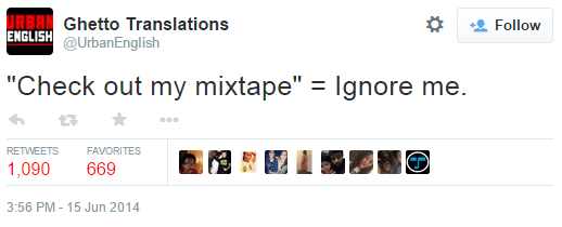 check out my mixtape know your meme