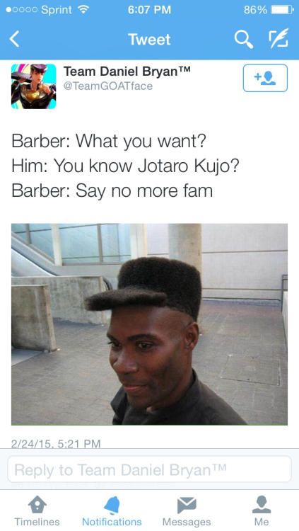 The Menacing Haircut The Barber Know Your Meme