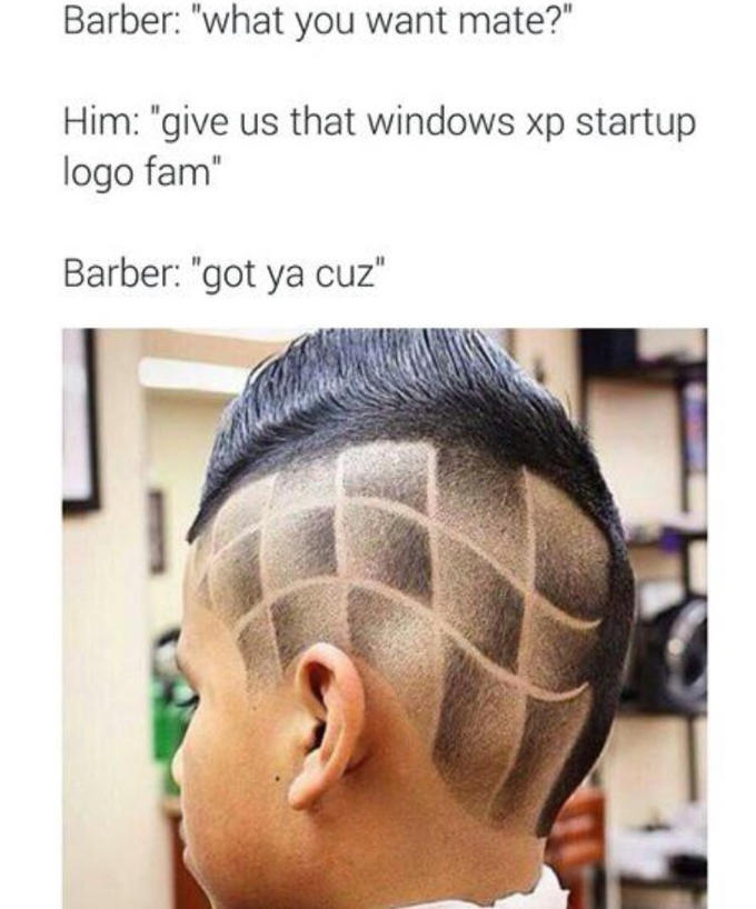 The Barber Know Your Meme