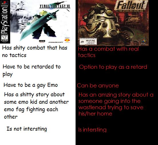 fallout final fantasy final fantasy know your meme