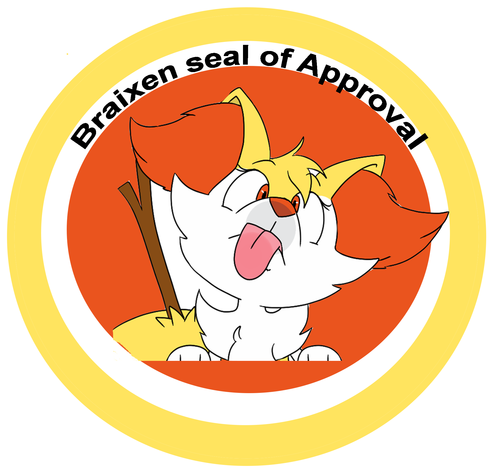 the new and improved braixen seal of approval pokémon know your