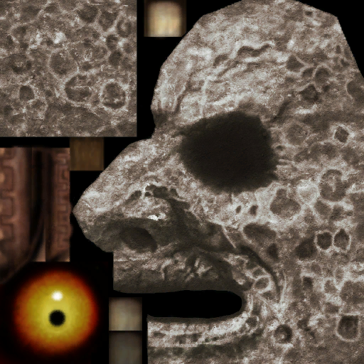 Textures from the one in Hyrule Warriors | The Moon (Majora's Mask