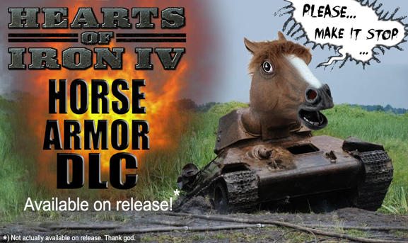 Hearts of Iron IV Horse Armor DLC | Horse Armor | Know Your Meme