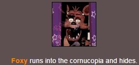 Always trying to hide, Eh foxy? | Hunger Games Simulator | Know Your