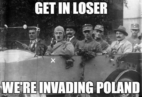 Image result for hitler poland meme