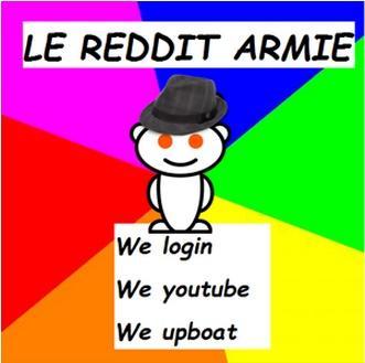 Le Reddit Army | Know Your Meme