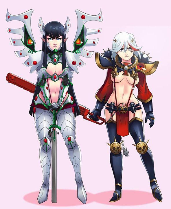 Eldar Satsuki And Sister Ryuko Kill La Kill Know Your Meme