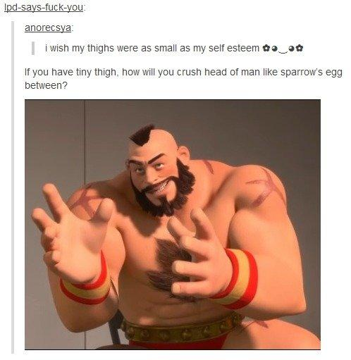 Zangief 1 Stupid Teenager 0 Wreck It Ralph Know Your Meme