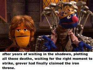 after years of waiting in the shadows plotting all those deaths waiting for the & a game of chairs | Bertstrips | Know Your Meme