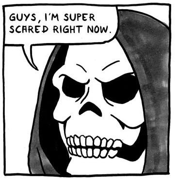 Spooked Scared Skeletor Skeletor Know Your Meme
