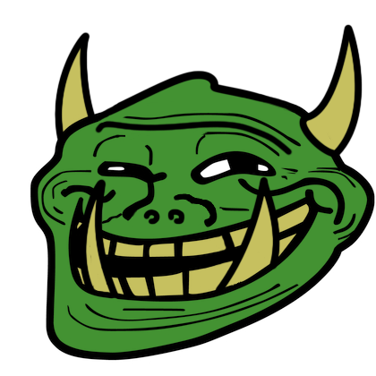 classic troll trollface trollface coolface problem know