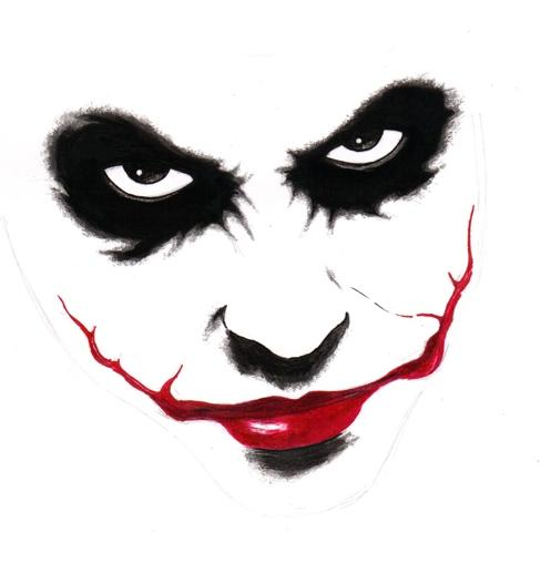 702f1e8d0 minimalistic artwork of Heath Ledger's Joker