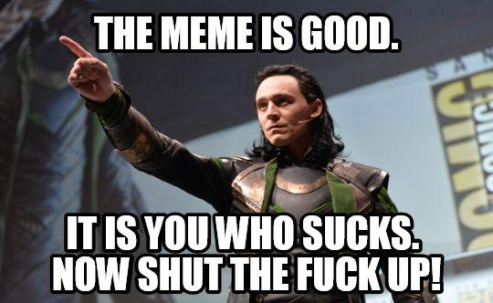 e12 the meme is good it is you who sucks now shut the fuck up! memes