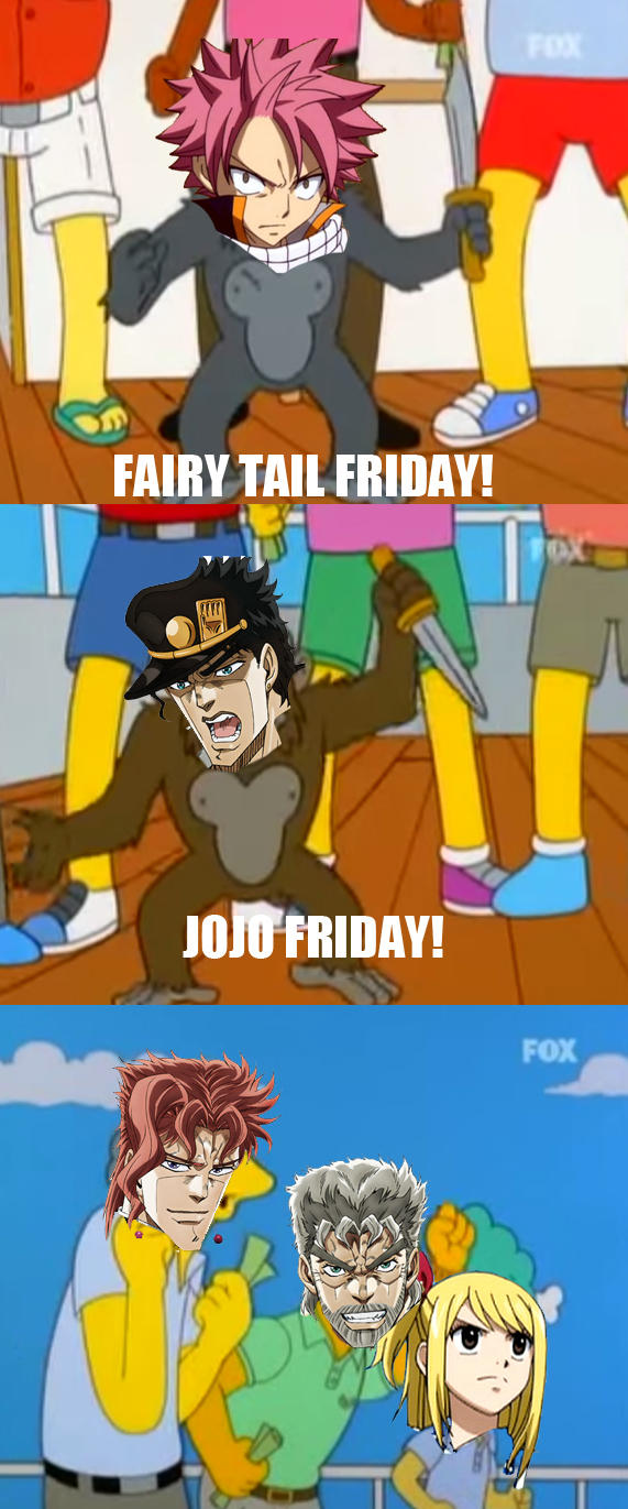 Jojo friday meme