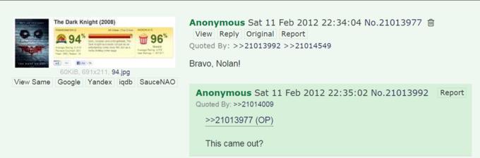 Bravo Nolan   Know Your Meme
