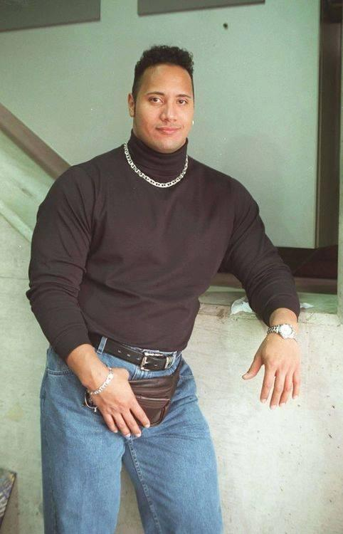 Fanny Pack Photo Dwayne The Rock Johnson Know Your Meme