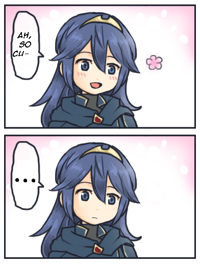 When Someone Posts The Lucina Image Before You Lucina Ah So Cute