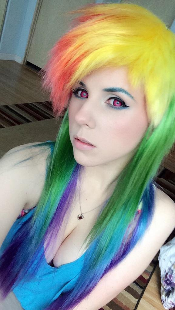 More Rainbow Dash Cosplay My Little Pony Friendship Is Magic