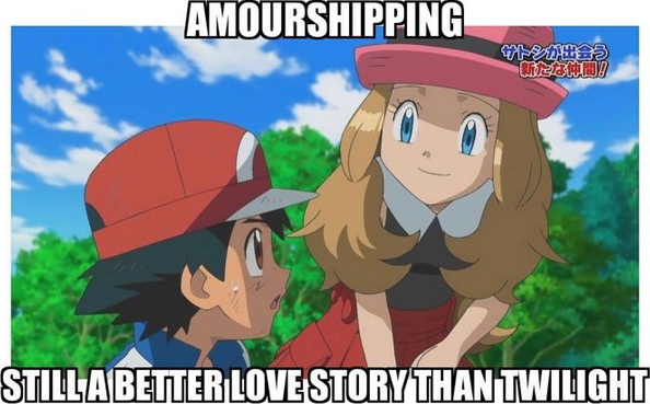 Ash And Serena Amourshipping Still A Better Love Story Than