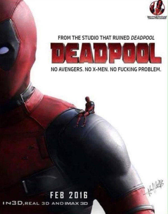 FROM THE STUDIO THAT RUINED DEADPOOL NO AVENGERS X MEN