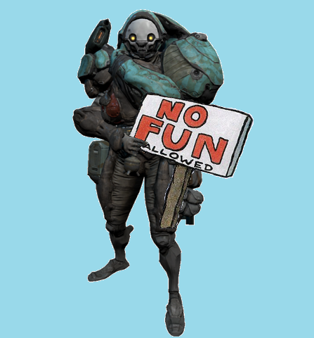 Image result for warframe no fun allowed