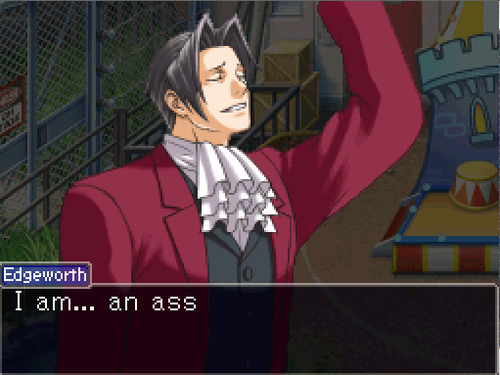 Well At Least He S Honest Phoenix Wright Ace Attorney Know