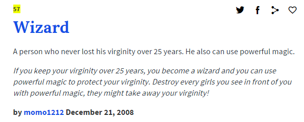 30-Year-Old Virgin Wizard | Know Your Meme