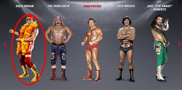 Still Speaks The Contents Of Hulk Hogan On The Site Wwe Com Hulk