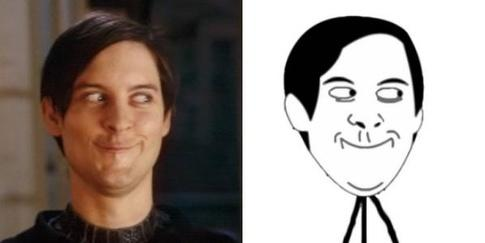 Tobey Maguire Face Know Your Meme