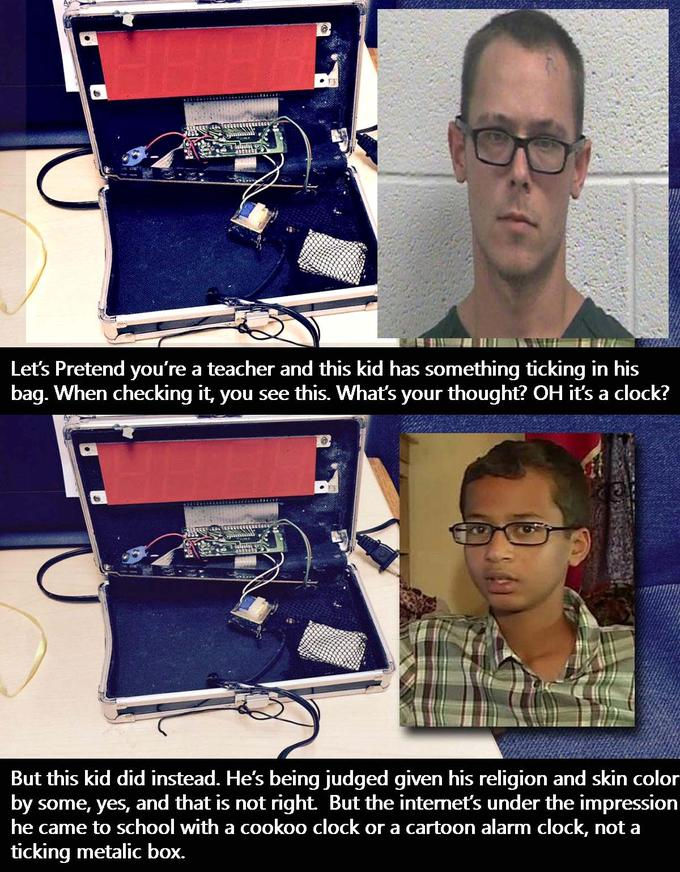 b88 seriously people ahmed mohamed's arrest know your meme