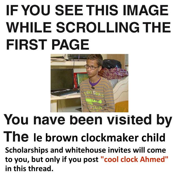 0c5 dank clock lad ahmed mohamed's arrest know your meme