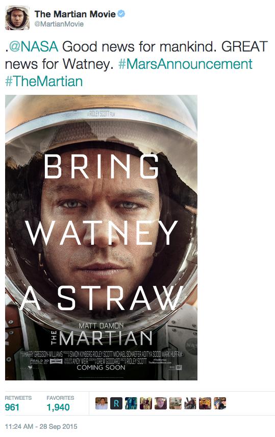 The Martian Mars Exploration Know Your Meme