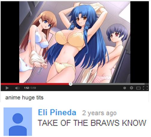 Anime Huge Tits Eli Pineda 2 Years Ago Take Of The Braws Know
