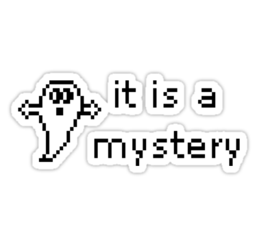 It IS A Mystery Text