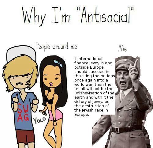 Why Im Antisocial Meme