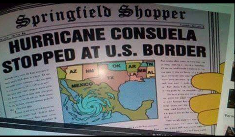 the simpsons predicted hurricane patricia the simpsons did it