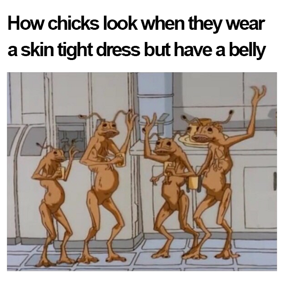 Skin Tight Dress With A Belly Black Twitter Know Your Meme