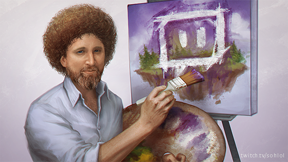 bob ross know your meme