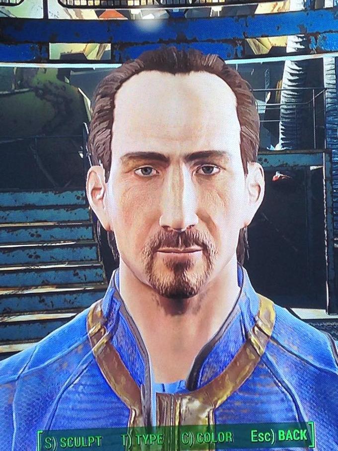 Todd Howard Fallout 4 Fallout 3 Fallout: New Vegas facial hair chin forehead beard