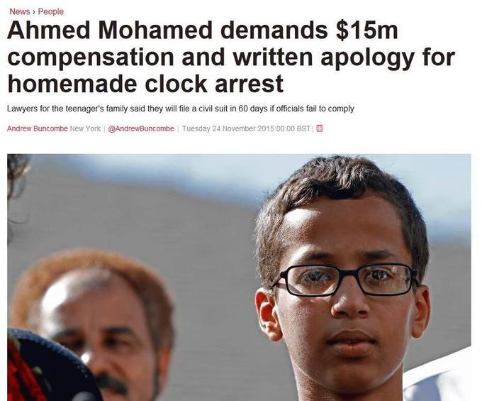 1f4 new development in mohamed's clock incident ahmed mohamed's arrest